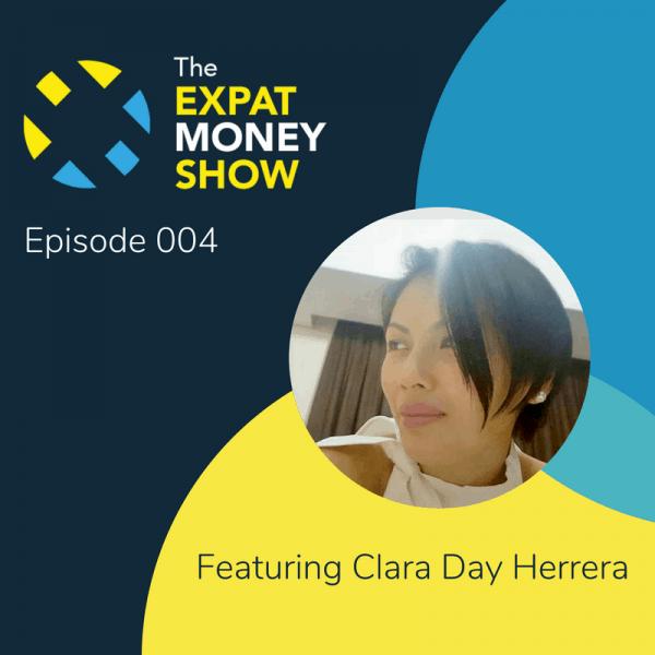 Clara Day Herrera interviewed by Mikkel Thorup on The Expat Money Show