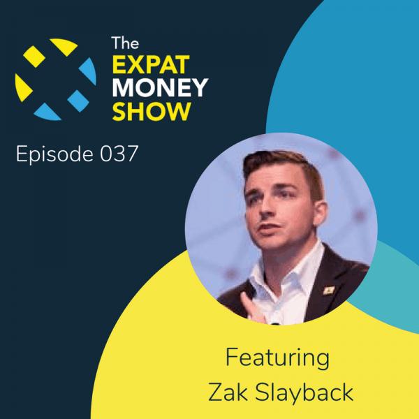 Zak Slayback Interviewed by Mikkel Thorup on The Expat Money Show