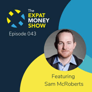 Sam McRoberts gets Interviewed by Mikkel Thorup on The Expat Money Show - Twitter Cover Image