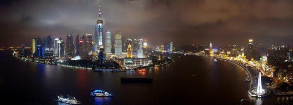 Shanghai Skyline - Expat Money Show