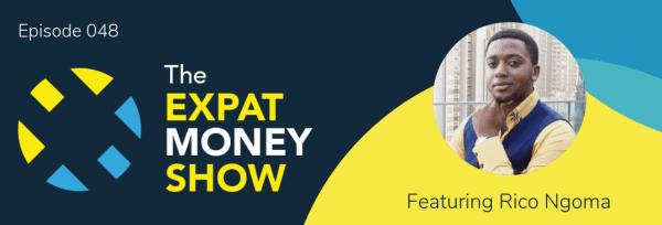 Rico Ngoma interviewed by Mikkel Thorup on The Expat Money Show