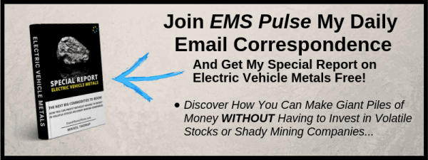 Special Report on Electric Vehicle Metals