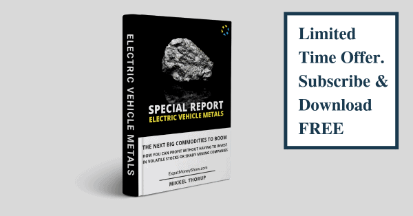 Limited Time Offer Subscribe and Download FREE - Special Report on Electric Vehicle Metals
