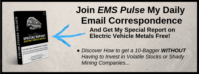 EVM - How to profit with Electric Vehicle Metals - Special Report